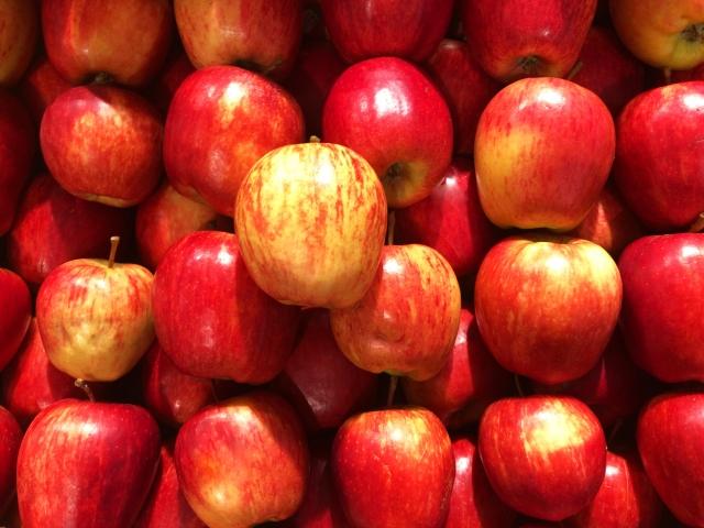 リンゴも体にはいいよね!