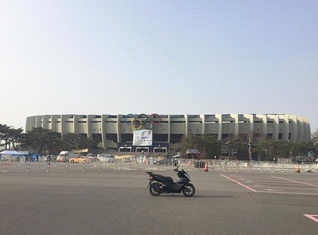 ソウルオリンピック会場